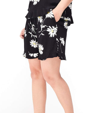 Elastic Lady Floral Short 8.90