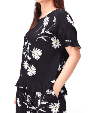 Relax Fit Lady Floral Top 8.90
