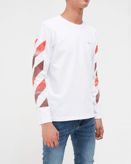Long Sleeve Trefoil Men T-Shirt 17.50