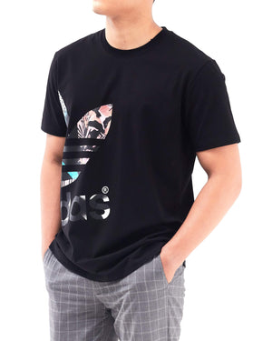 Gradient Trefoil Print Men T-Shirt 14.50