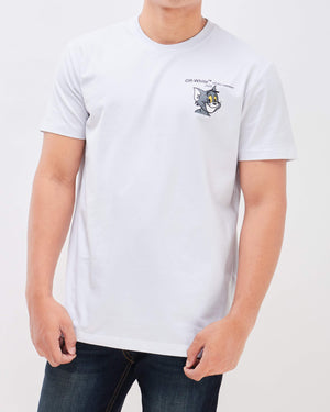 OW Men Tom Print T-Shirt 14.90
