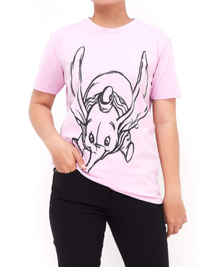 Sketch Dumbo Lady T-Shirt 13.50