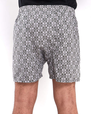 Square Stars Print Men Boxer 6.40
