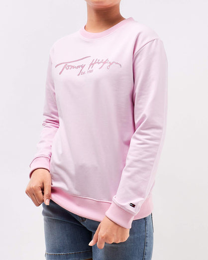 TH Logo Print Lady Sweater 15.90