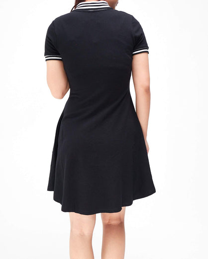 Tipped Lady Polo Dress 15.90
