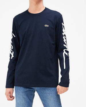 Typography Men Long Sleeve T-Shirt 17.50