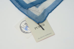 AP Luxury Scarf Blue and White by Purist for Audemars Piguet