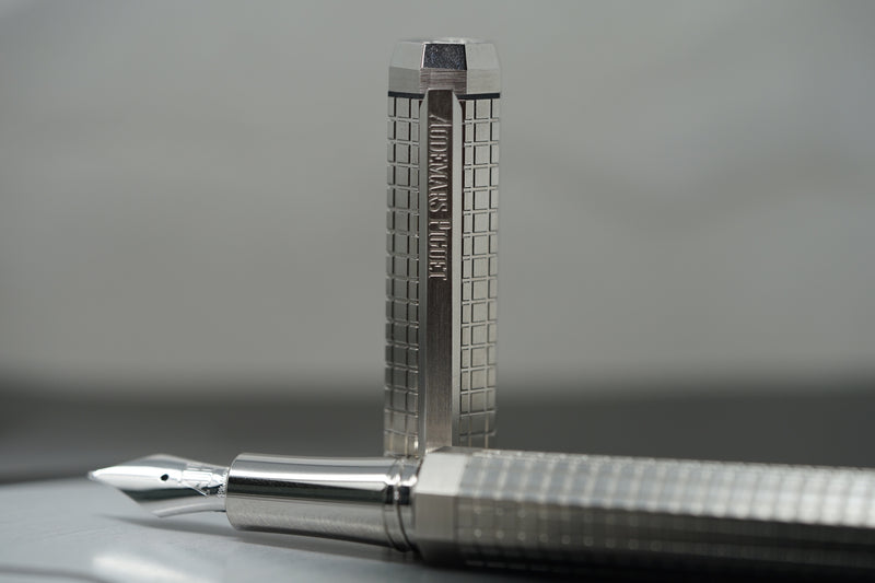 Audemars Piguet Fountain Pen with Royal Oak Tapisserie