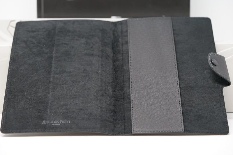 New Audemars Piguet Black Leather Suede Cover for iPad or Notebook
