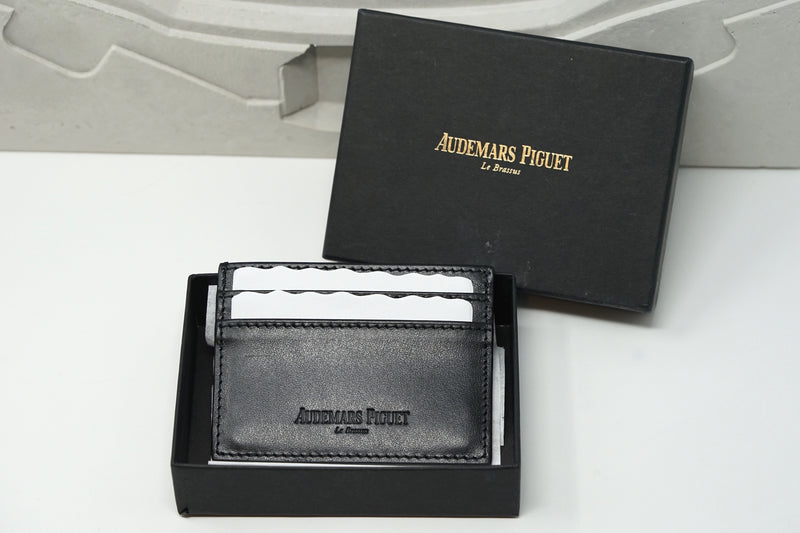 New Audemars Piguet Royal Oak Wallet Black Leather