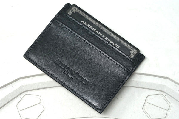 Audemars Piguet Royal Oak Watch Black Wallet Black Amex