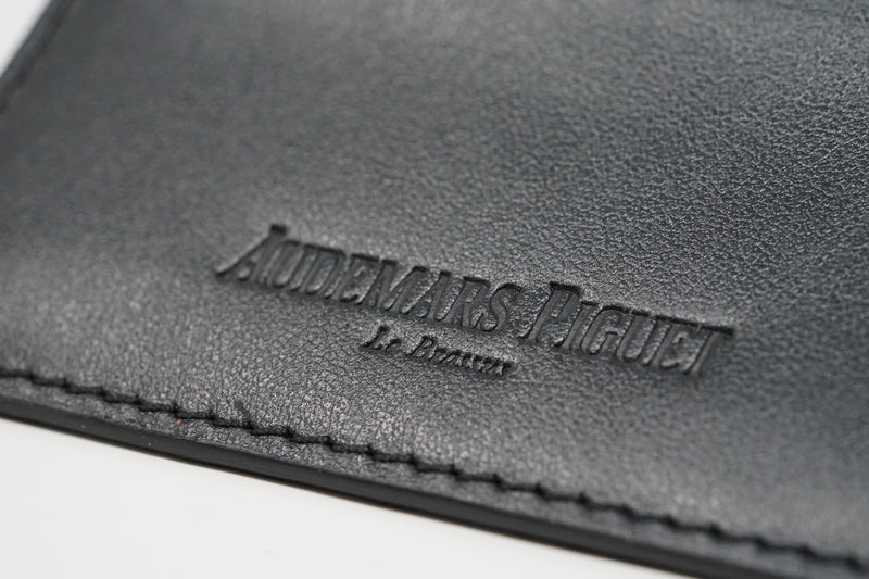 New Audemars Piguet Watch Black and Grey Wallet