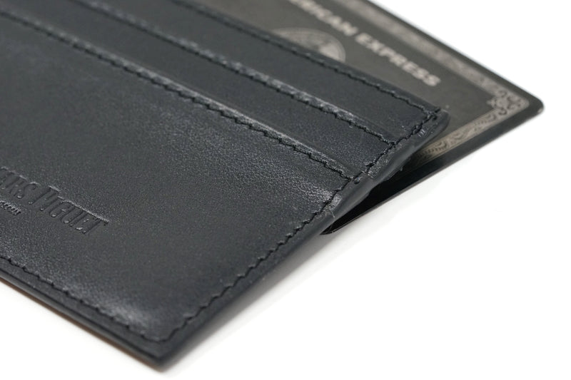 Audemars Piguet Black Wallet Black Amex Italian Made