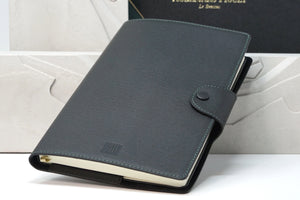 Audemars Piguet Leather Moleskine Black and Green Planner