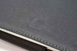 Audemars Piguet Royal Oak Black Leather Moleskine