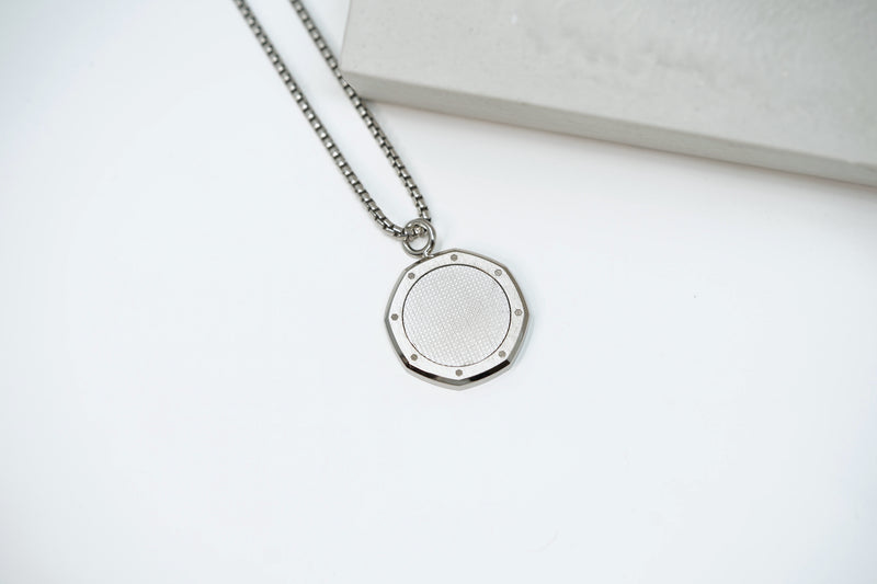 New Audemars Piguet Royal Oak Jewelry Necklace Medallion in Stainless Steel Available for Sale Online at Time Traders