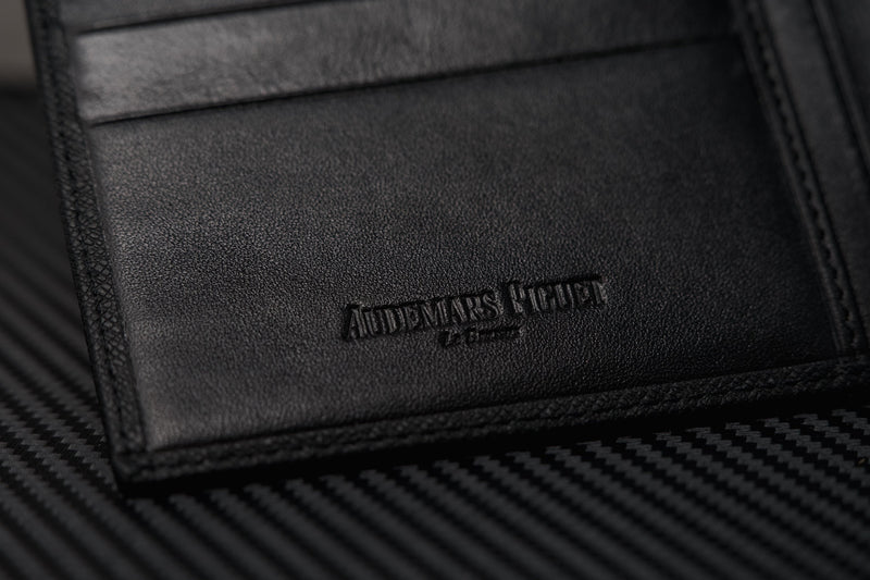 Audemars Piguet Wallet Luxury Black Leather Authentic AP VIP