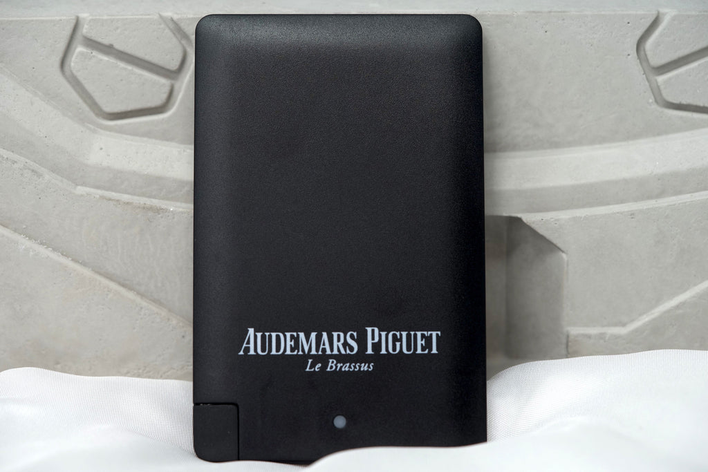 Luxury Android and iPhone Black Charger Block by Audemars Piguet