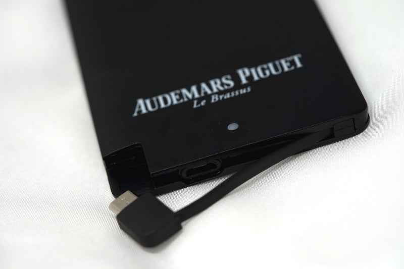 Durable High End Black Charger Block for Android or iPhone by Audemars Piguet
