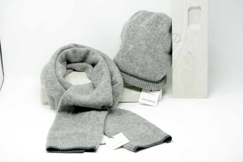 Warm Pure Cashmere Designer Luxury Scarf by AP