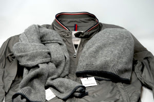 Luxury Cashmere Scarf and Hat Grey Designer Audemars Piguet