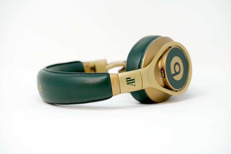 Green and Gold Beats by Dre Audemars Piguet Limited Edition