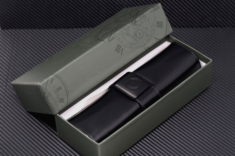 High Quality Black Leather Travel Roll for Audemars Piguet Watch