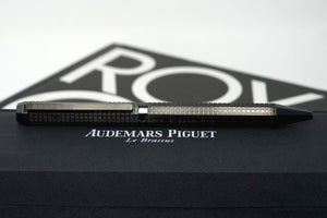 Luxury Swiss Audemars Piguet Royal Oak Black Ceramic Ballpoint New in Box
