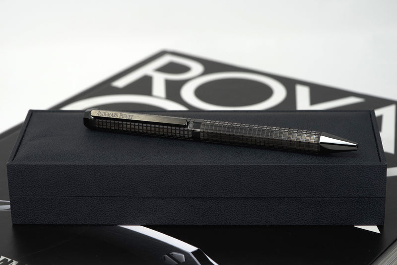 New Audemars Piguet Royal Oak Black Carbon Pen Authentic Ballpoint