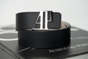 Audemars Piguet Belt Authentic AP Silver Buckle