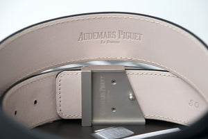 Audemars Piguet Black Belt Silver AP Buckle