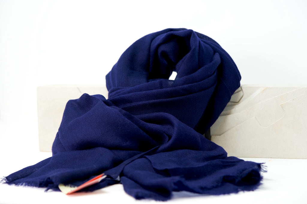 Audemars Piguet Royal Blue Luxury Cashmere Scarf Purest Nepal