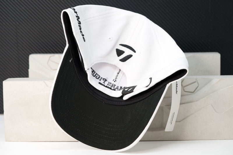 High End Luxury Golf Hat White Cotton by Taylormade and Audemars Piguet