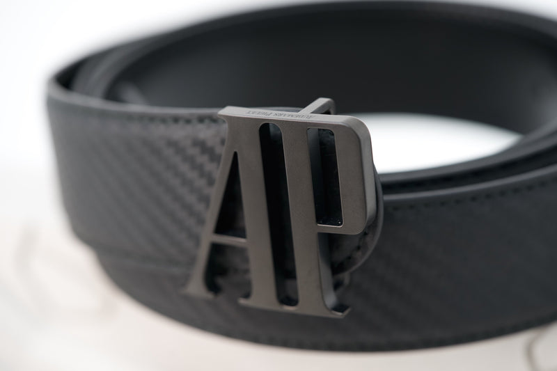 Real Audemars Piguet Black Belt Carbon Fiber Leather
