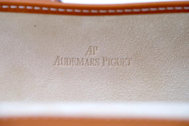 Authentic Audemars Piguet Royal Oak Watch Roll Made by Hermes for Luxury Travel For Sale at Time Traders Online