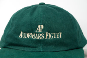 Authentic Audemars Piguet Luxury Cotton Sports Hat Retro Gold and Green for Sale Online by Time Traders