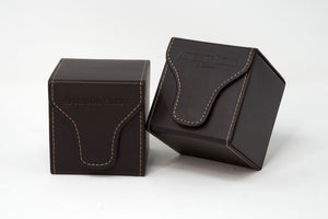 Audemars Piguet Royal Oak Brown Leather Travel Pouch for Royal Oak Watches For Sale Online at TimeTradersOnline.co