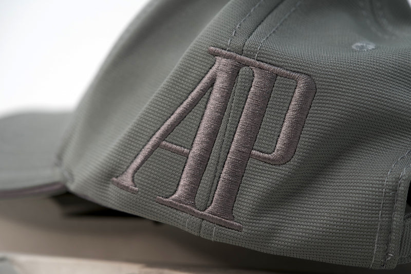 AP Royal Oak Luxury Cotton Hat Gray and Silver for Sale at TimeTradersOnline.com