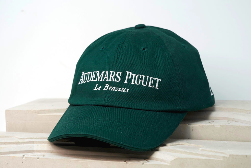 Luxury Watch Audemars Piguet Royal Oak AP Green Cotton Hat For Sale by TimeTradersOnline.com