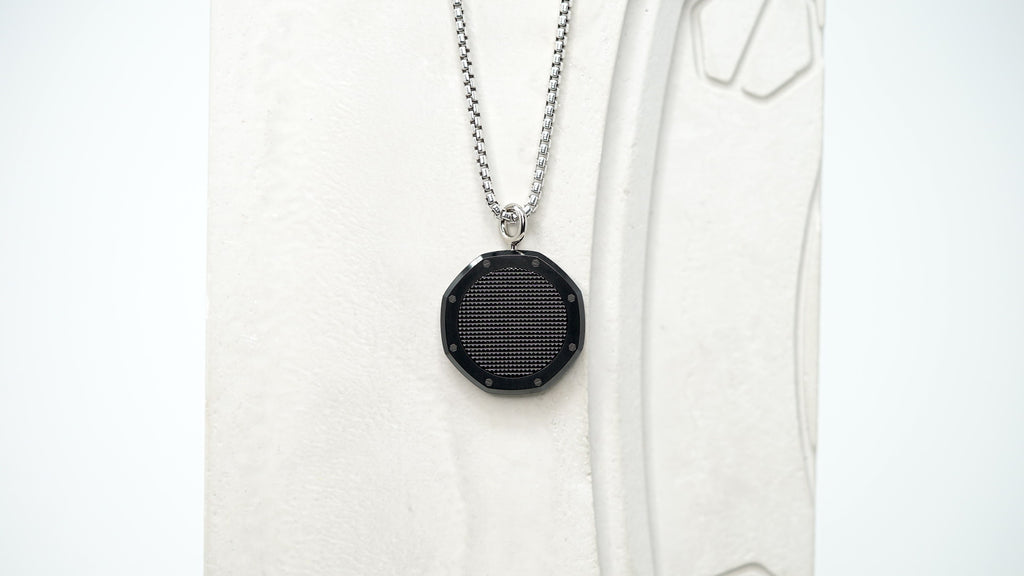 Men's Watch Designer Audemars Piguet Royal Oak Black Carbon DLC Necklace For Sale at Time Traders Online.