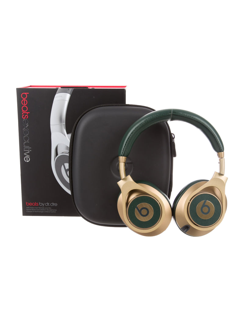 Limited Edition Audemars Piguet Beats by Dre Gold and Green Headphones