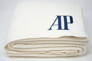 AP Royal Oak Blue Logo Cabana Towel