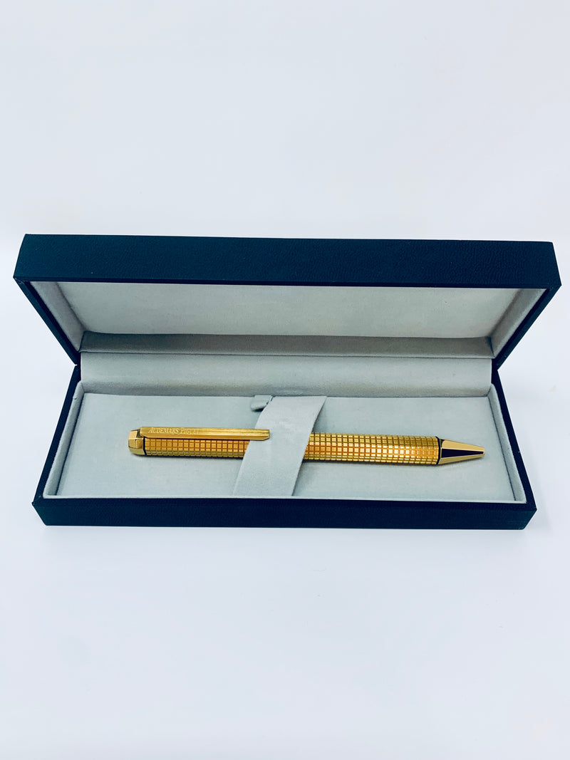 New Audemars Piguet Pen Royal Oak Ballpoint Pen in Yellow Gold New in Box