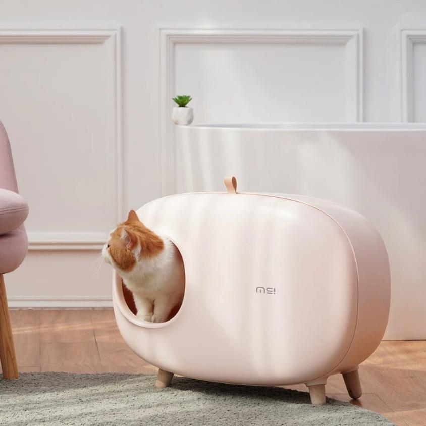 Stylish cat litter box-Bathroom-Alfy & Co-Alfy & Co