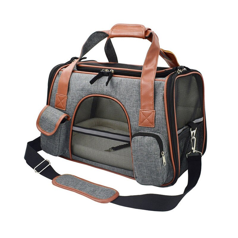 Travel Pet Carrier-Outdoor-Alfy & Co-Dark Gray-Alfy & Co