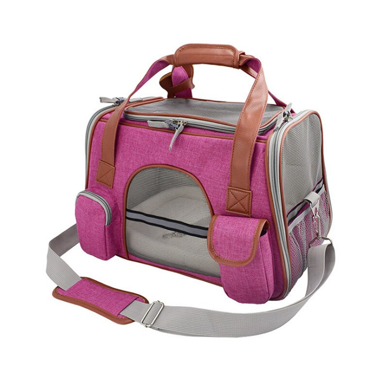 Travel Pet Carrier-Outdoor-Alfy & Co-Fuchsia-Alfy & Co