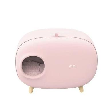 Stylish cat litter box-Bathroom-Alfy & Co-Pink-Alfy & Co