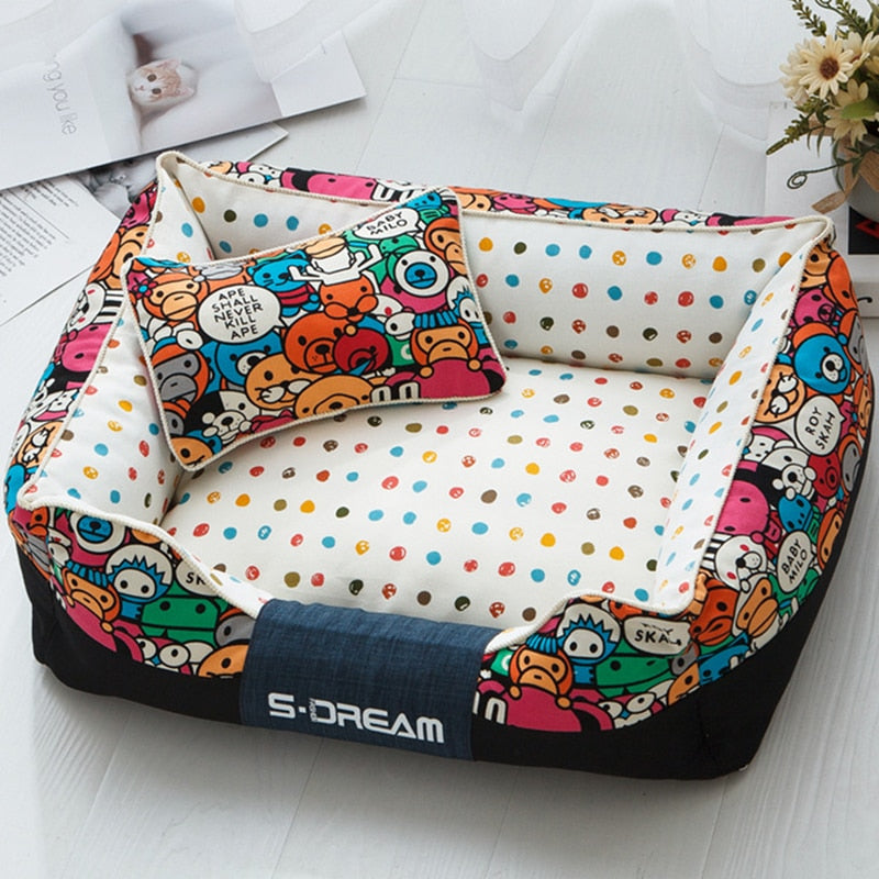 Funny patterned dog beds-Sleeping-Alfy & Co-Alfy & Co