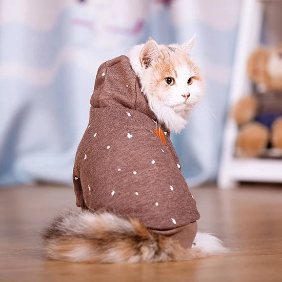 Cat or small dog hoodie-Beauty-Alfy & Co-Alfy & Co