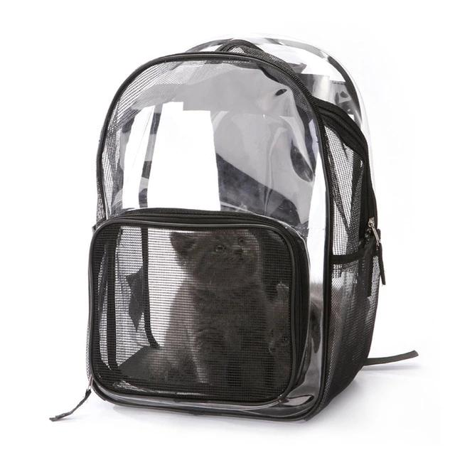 Backpack pet carrier for cats or small dogs-Outdoor-Alfy & Co-Alfy & Co